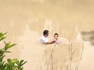 Honduras baptism #2