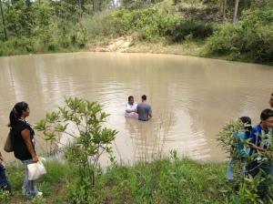 Honduras baptism