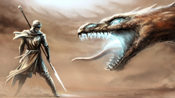 warrior_dragon_weapons_fantasy_96211_3840x2160